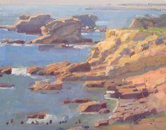 Daniel Aldana. Treasure Cove. 11 x 14