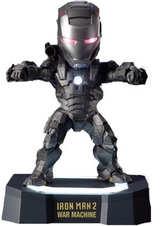 Iron Man 2 - War Machine Egg Attack Statue by Beast Kingdom
