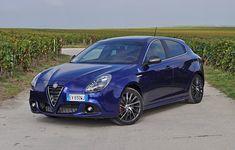 Nous avons essayé l'Alfa Romeo Giulietta Quadrifoglio Verde restylée en…