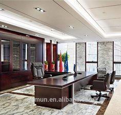 Escritorio Ejecutivo Modern Office Design, Home Office, Kitchen, Table, Room, Furniture, Business, Home Decor, Design Studio Office
