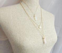 Opal Necklace Violet Opal Necklace Pink by SweetheartJewelryBox