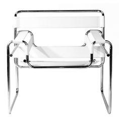Replica Marcel Breuer Wassily Chair by Marcel Breuer - Matt Blatt