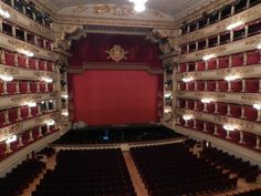 the newly-restored La Scala opera house
