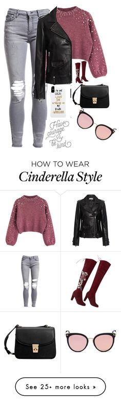 """Untitled #4227"" by mixernation00 on Polyvore featuring AMIRI, IRO, MANGO and Stephane + Christian"