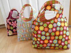 Schnittmuster Taschen - Wendetasche von Valentina-Stoffe auf DaWanda.com