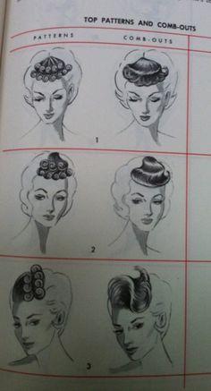 Vintage Hollywood Cinema Siren Womens Movie Star Hair Costume Wig 40/'s 50/'s