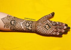 2019 is almost here 😍 Indian Mehendi, Indian Mehndi Designs, Mehndi Design Photos, Wedding Mehndi Designs, Latest Mehndi Designs, Mehndi Images, Henna Mandala, Henna Mehndi, Mandala Tattoo