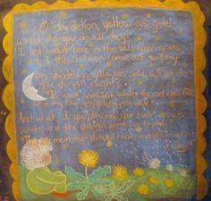 farming - dandelion poem