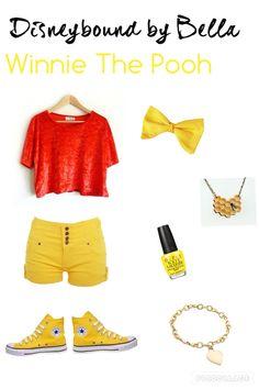 Pooh Disneybound- Spring/Summer