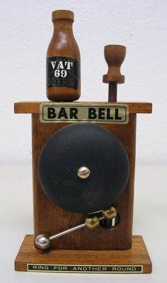 Bar Bell Novelty with Vat 69 Bottle Opener