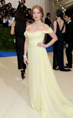 Jessica Chastain from 2017 Met Gala: Red Carpet Arrivals