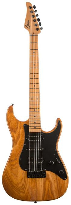 Suhr Fully Roasted Swamp Ash/Roasted Maple Standard Natural Gloss