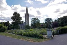clissold park view of church