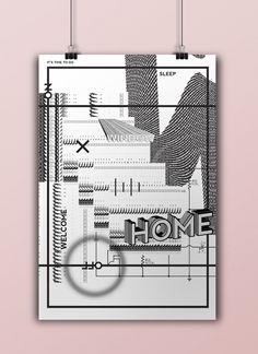 Poster design // Ksenija Serbina http://cargocollective.com/ksenijaserbina The Hague KABK