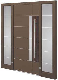 A modern house door should not only look good and blend in perfectly with the architecture of the house, but should also be optimally equipped for the daily demands and outside influences.