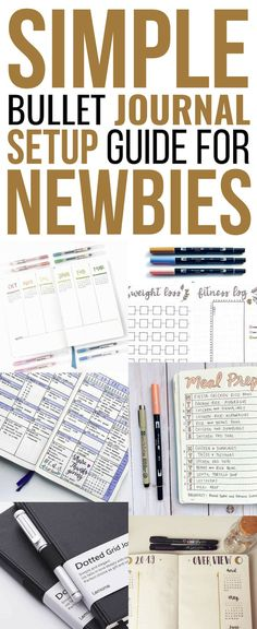 Want to start a bullet journal but not sure how? This step by step guide helps take you through the entire bullet journal setup process in 7 simple steps! Bullet Journal Must Haves, Bullet Journal Work, Creating A Bullet Journal, Bullet Journal Layout, Bullet Journal Inspiration, Bullet Journal How To Start A Simple, Journal Ideas, Bullet Journal September Cover, Planner Organization