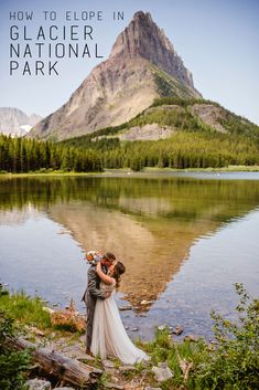 How to Elope in Glacier National Park - Glacier National Park Wedding and Family Photographer based out of Kalispell, Montana- 406-871-3524 - Call or Text!