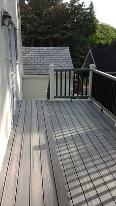 Trex Cocktail Rail Railings Deck Builders Deck
