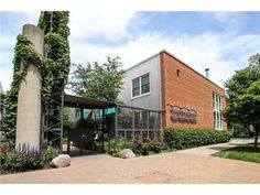 1300 West Altgeld Court #136, Chicago, IL 60614 — Beautiful 2 story townhome w/27ft wide interior & 18ft ceilings in living room. 1st flr features huge chefs kitchen with 13'x5' granite island, 1/2 bath, hdwd floors, fireplace w built-ins, laundry room & 3rd bed (currently used as office). 2nd flr w 2 large bedrooms and 2 full baths. Master w walk-in calif closet. Patio off living room perfect for entertaining. Addl private roof deck. Garage + pad for 2nd car