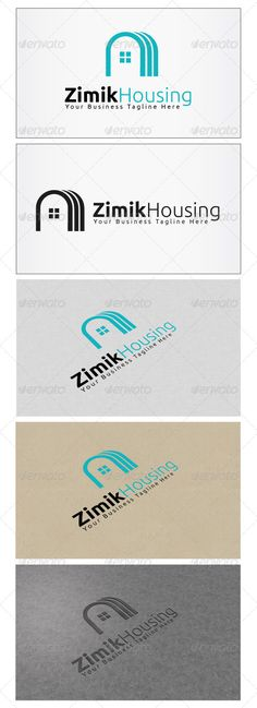 Zimik Housing  Logo Design Template Vector #logotype Download it here:  http://graphicriver.net/item/zimik-housing-logo/5929600?s_rank=918?ref=nexion