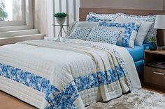KIT GISELLE 07 Peças - Queen   Para você que procura uma bela colcha para sua cama que lhe proporcione bem estar,conforto e ao mesmo tempo sofisticação,aqui na Teixeira Têxtil você encontra belas colchas da Maison Rouge nas mais delicadas estampas.