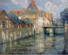 Henri Le Sidaner ~ intimiste peintre