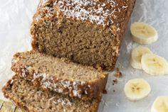 Coconut Banana Oatmeal Bread