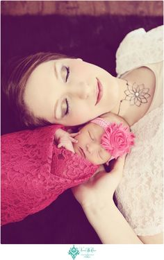 Announcing Baby C » Visions by Cara Photography - Sweetest mommy/newborn picture EVER!