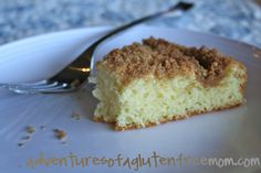 Gluten free coffee cake made from gf bisquick mix