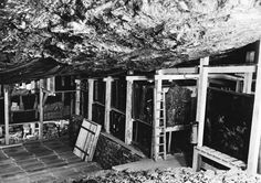 Nazis used Austria's Altaussee Salt Mine as a repository for looted masterpieces intended for Hitler's planned museum in his birthplace, Linz, Austria. Credit: Courtesy of National Archives and Records Administration, College Park, MD Johannes Vermeer, Caravaggio, Manet, Rembrandt, Michelangelo, Monument Men, Degenerate Art, Museum, Italian Artist