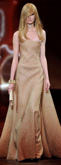 Giorgio Armani Privé glimmer gown