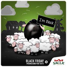 """Per un Black Friday da paura, 20% di sconto su tutti i prodotti disponibili su www.saclastore.it. """"Distinguiti dalla massa"""" e fai il tuo acquisto intelligente. Usa il codice IMBLACK: solo per Venerdì 25 Novembre."""