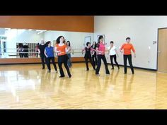 The Tango Project - Line Dance (Dance & Teach) - YouTube