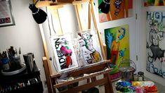 Liz Vaughn's Art Studio in Tucson My Art Studio, Tucson, Original Paintings, The Originals