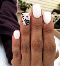 Cute nails - nails - # a Dream Nails, Love Nails, Stylish Nails, Trendy Nails, Cute Acrylic Nails, Gel Nails, Shellac, Dipped Nails, Bridal Nails