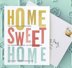 Send moving announcements to tell friends and family about the new abode. | Tiny Prints