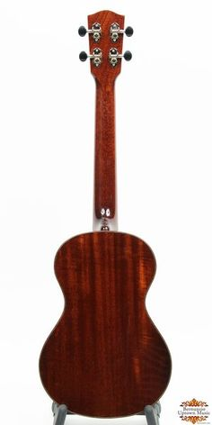 More than just look-alikes, this instrument captures the tone, playability and island soul of the original classic ukuleles that inspired them. This phenomenal sounding TENOR ukulele features all solid wood construction with the top, back