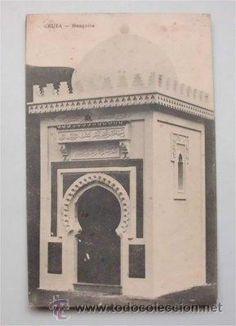 Tarjeta postal circulada de Ceuta (1919) - Sello Alfonso XIII Zona de protectorado español Marruecos - Foto 1