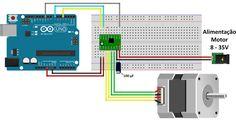 Arduino Motor, Dc Circuit, Software, 3d Cnc, Electronics Projects, Solar, Digital, Raspberry, Stepper Motor