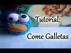 Tutorial: Moustro Come Galletas ♥ (Arcilla polimerica/Porcelana fria)