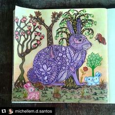 Joanna Basford Enchanted Forest Coloring Book Johanna Secret Garden Zen Art Pages Whimsical