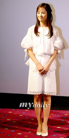Jun Ji Hyun, Kim Tae Hee, Sassy Girl, Bollywood Fashion, Most Beautiful Women, Yuri, Lace Skirt, White Dress, Korean