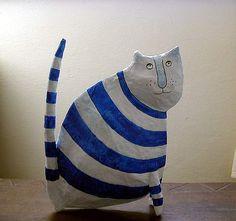 Cat by happy thingies, via Flickr