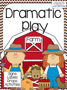 Need help creating an engaging dramatic play center that incorporates learning through play?  This FARM dramatic play center is just what you need. No more boring learning centers, having to justify play, or just using the same things in your center all year.