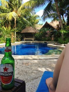 Swasti Eco Cottages pool - Nyuh Kuning. Ubud, Bali