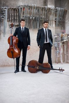 2CELLOS by Stephan Lupino