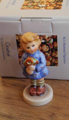 Hummel Goebel Girl WIith Nosegay Figurine No by CaliforniaPicks