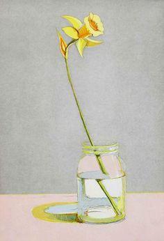 Wayne Thiebaud - Daffodil | 1stdibs.com