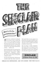 The Sinclair Plan 1951 Ad Picture