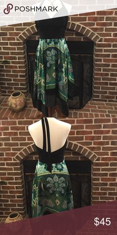 Beautiful Backless Dress Great for summer evening. Size 10. Used twice. Dresses Backless